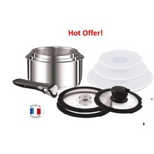 TEFAL INGENIO STAINLESS STEEL 11PC SET